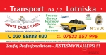 Transport na / z Lotniska w Londynie - Stansted, Luton, Gatwick, Heathrow..